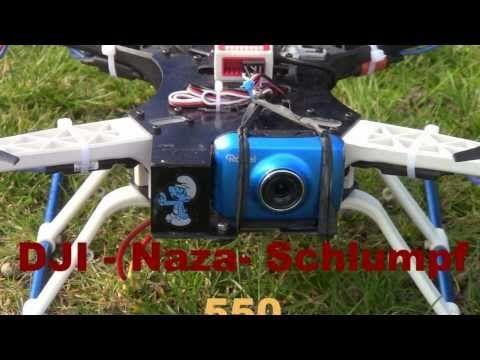 Kameraflug mit DJI-Naza+GPS