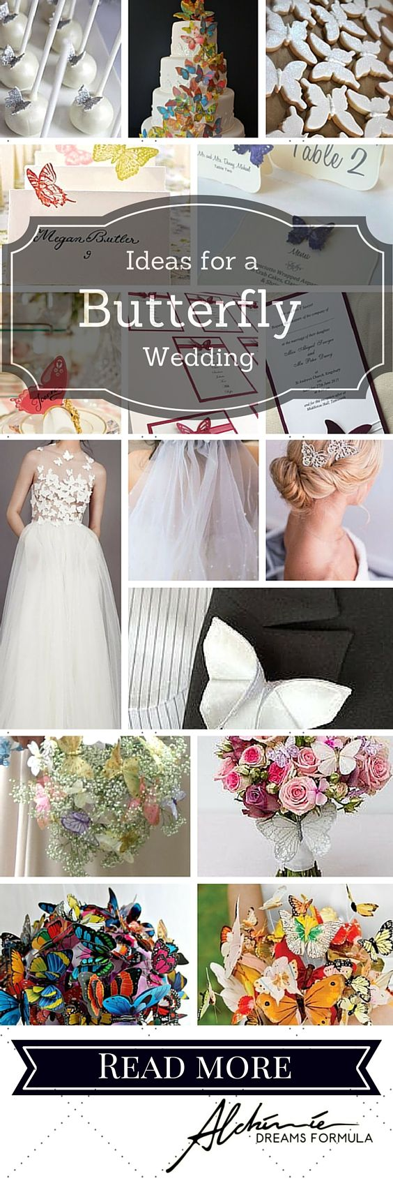 afternoon tewedding theme ideas%0A Amazing ideas for a fabulous butterfly wedding