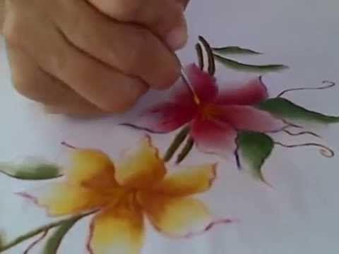 PINTURA PARA TELA MAESTRAS CREATIVAS - YouTube