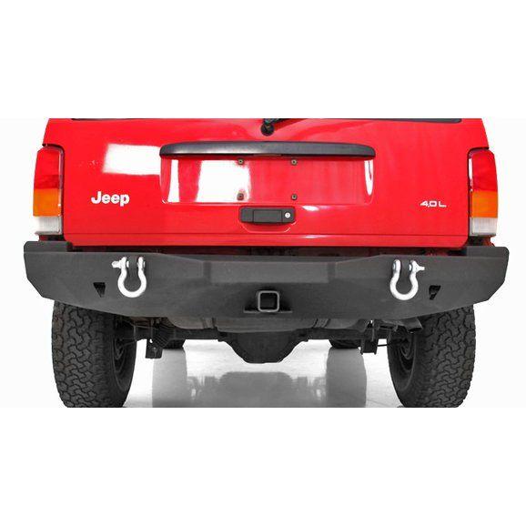 Smittybilt 76850 Xrc Rear Bumper For 84 01 Jeep Cherokee Xj Jeep