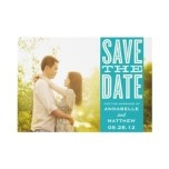 Ensure that all of your loved ones are present on your special day with Zazzle's custom Save the Date products. Mail a cute engagement announcement card to have your friends and family around the world to save the date of your important day, or send a useful magnet or unique sticker to make the date impossible to forget. Choose from thousands of stylish designs made by artists in the marketplace or use your favorite photos to create your own unique Save the Dates.