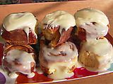 Overnight Cinnamon Rolls (I make these Christmas Eve, pop them in the oven Christmas morning & it makes the house smell AMAZING!)