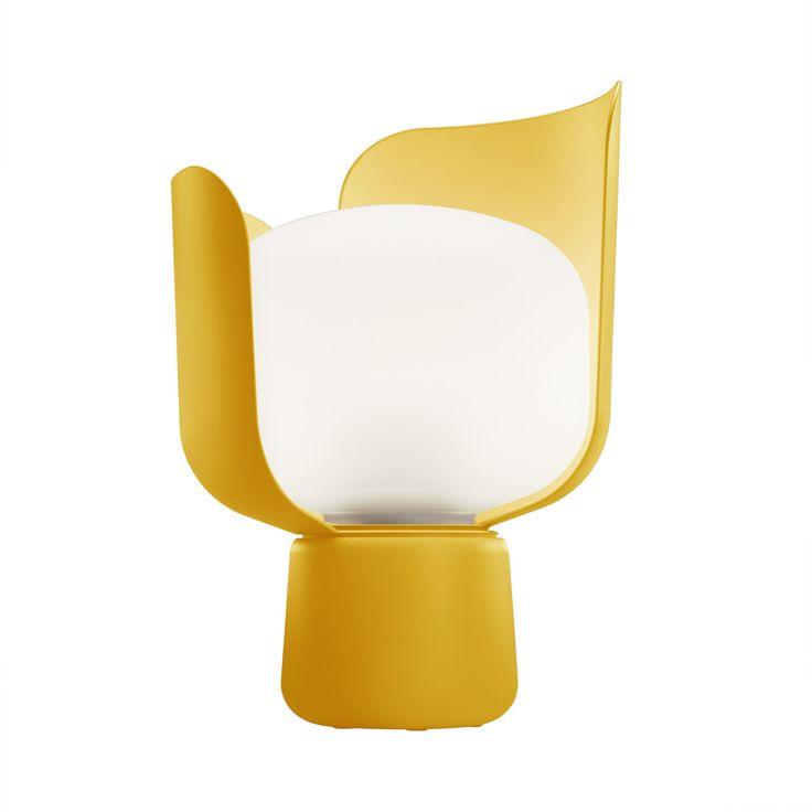 FontanaArte - Blom Tischleuchte, gelb - Einzelabbildung