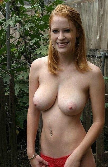 busty nude redhead women