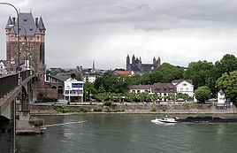 Worms am Rhein; the town in Germany where I grew up