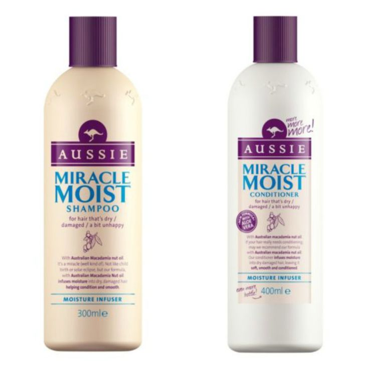 Aussie Miracle Moist Shampoo & Conditioner // The August Review #blogger #aussie #review x