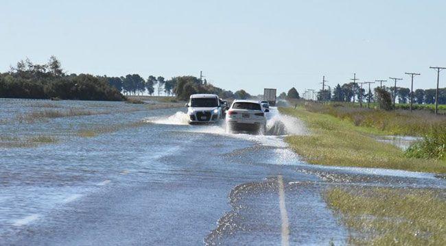 Rutas nacionales 188 y 35 cortadas a la circulación vehicular