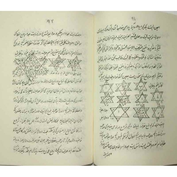 Iran Islam Shia Persian MAFATIH AL-MAGHALIQ Book on Riyazat, The Science of Letters, Jafr and Talismanry, etc