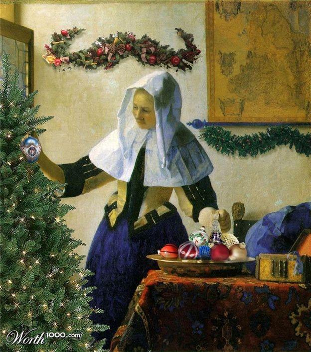 christmas in art history