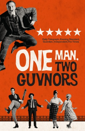One Man, Two Guvnors - based on the Commedia dell'Arte hit by Goldoni originally made famous in modern times by the Piccolo Teatro di Milano (where I have also performed!)
