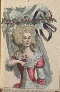 Robe a la turque, Cabinet des Modes, Juin 1786.