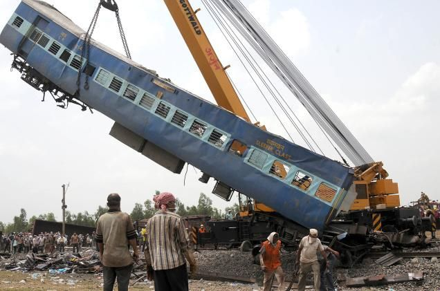 Madhya Pradesh Trains Derailed: Surge of Water Hit Tracks That Were Safe on Today New Trend http://www.todaynewtrend.com