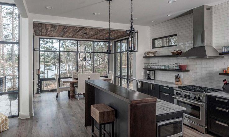 Best 25+ Rustic Lake Houses Ideas On Pinterest