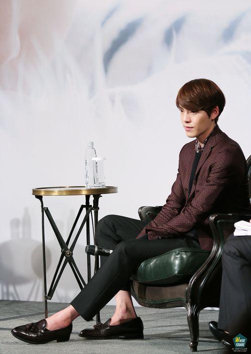 Kim Woo Bin | Fan meeting Press Conference at Taiwan 140314