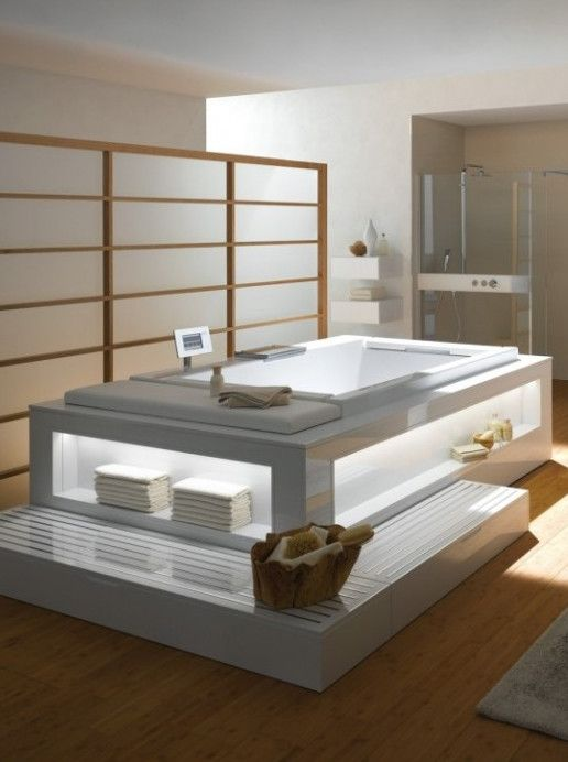 Whirlpool #bathtub For Chromotherapy NEOREST   TOTO
