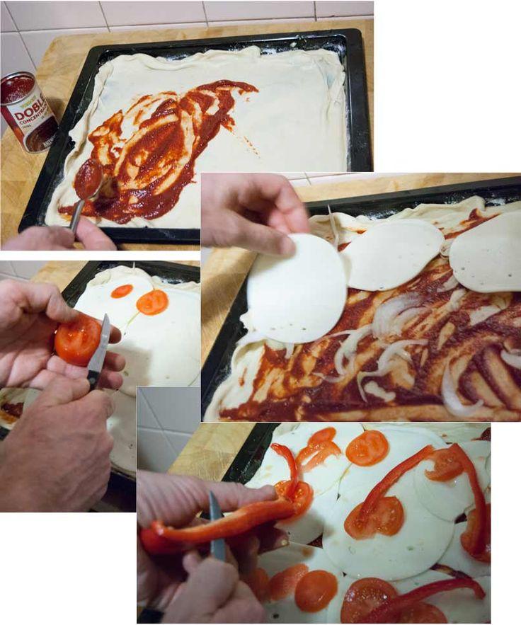Receta de cocina: Pizza casera