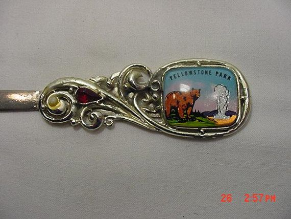 97c24b3597840 Vintage Yellowstone Park Letter Opener Souvenir 18 - 1259 in 2018 ...