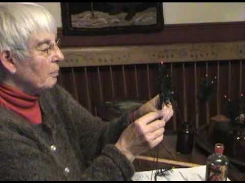 #northdixiedesigns here she shows how to make a feather tree from the past...She has many wonderful things on her site. Well worth looking into....