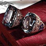 Finca natural Diamante Azul Aguamarina Anillo de joyería de oro blanco sólido 14K Talla 7 | Joyería y relojes, Compromiso y boda, Anillos de compromiso | eBay!