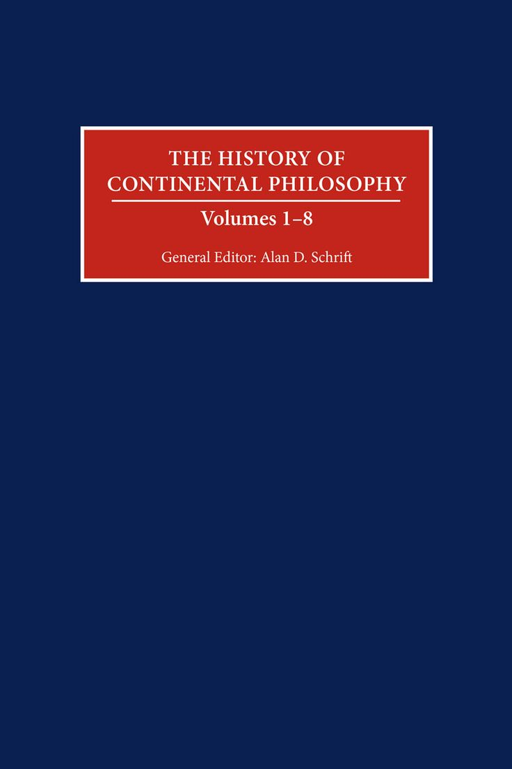 The History of Continental Philosophy (High Resolution)