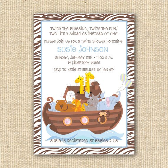 noah 39 s ark baby shower on pinterest twin baby showers noahs ark