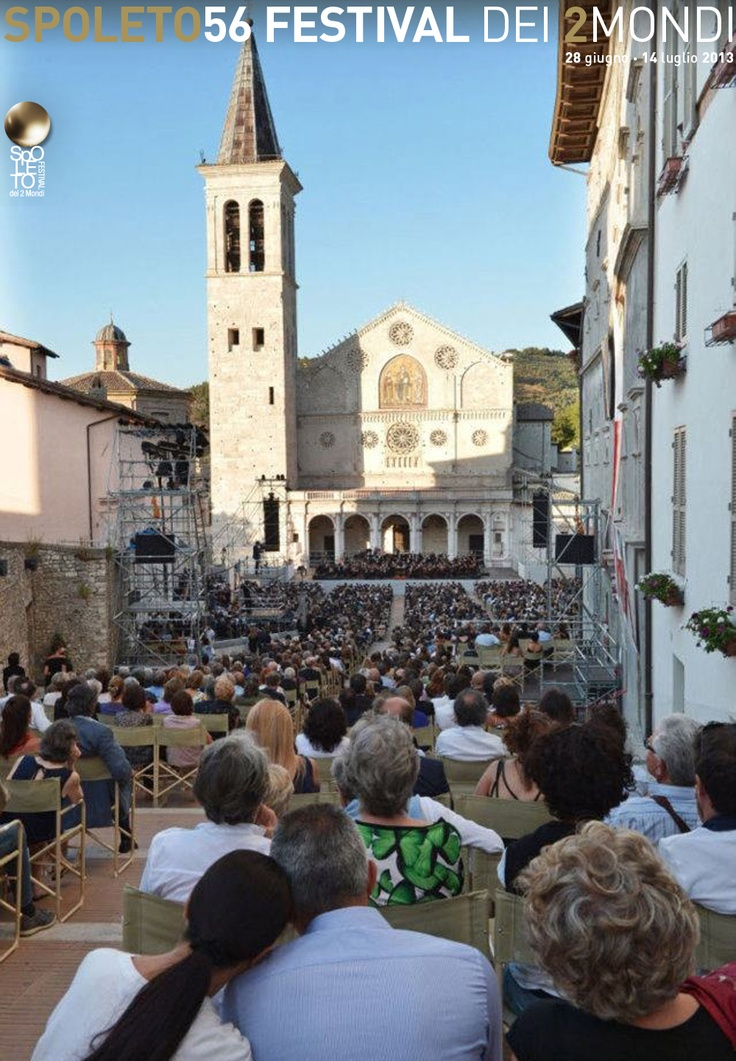 Come Experience the Spoleto Festival of the Two Worlds