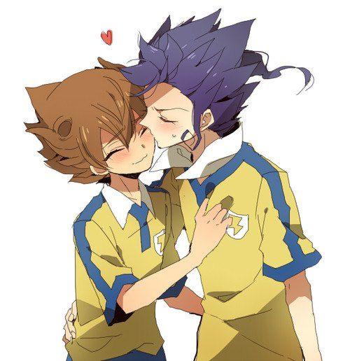 Kyoten tsurugi x tenma victor blade kawaii anime e anime - Inazuma eleven go victor ...