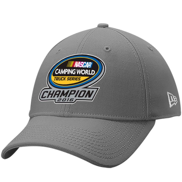 Johnny Sauter New Era 2016 Camping World Truck Series Champion 9FORTY Adjustable Hat - Graphite