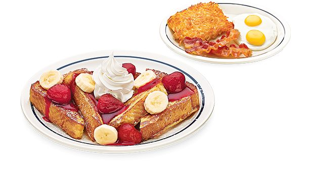 Celebrate French Toast all day long at IHOP! Create Your Own French Toast Combo by pairing your breakfast favorites with one of seven delicious French Toast varieties.