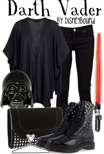 LOVE this outfit....except for the darth vader head lol...but the rest is kick ass!