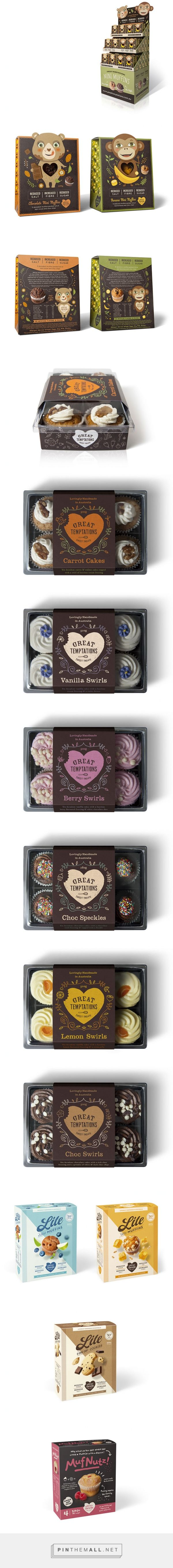 muffin packaging, cupcake packaging design | Dessein - created via http://pinthemall.net