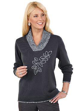 Пуловер, 369912, антрацит