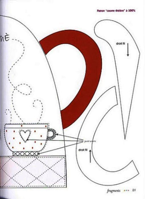 pattern 2 for teapot