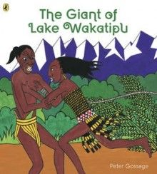 When Manata goes missing from her village, her people discover that she has been kidnapped by a giant. Her lover, Matakauri, sets off to rescue her, knowing that his people will never be safe until the giant is killed.  While the giant sleeps, Matakauri builds a fire around him. But what will happen when the fire is lit? This is a beautiful retelling of the legend of how one of New Zealand's great lakes came to be.