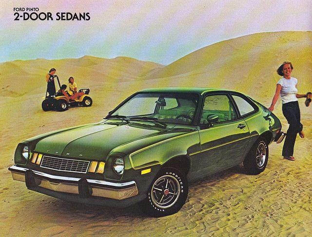 1978 Ford Pinto 2 door sedan