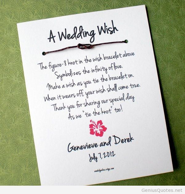 A Wedding Wish Quote