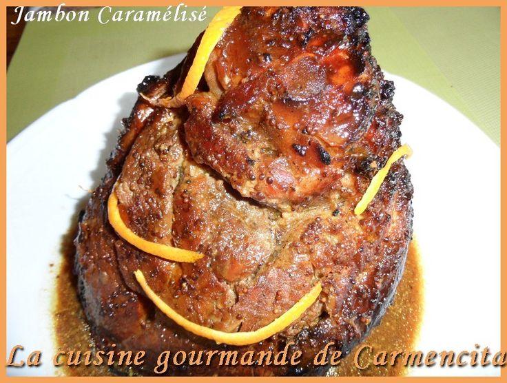 """750g vous propose la recette """"Jambon de Noël traditionnel"""" publiée par Carmencita."""