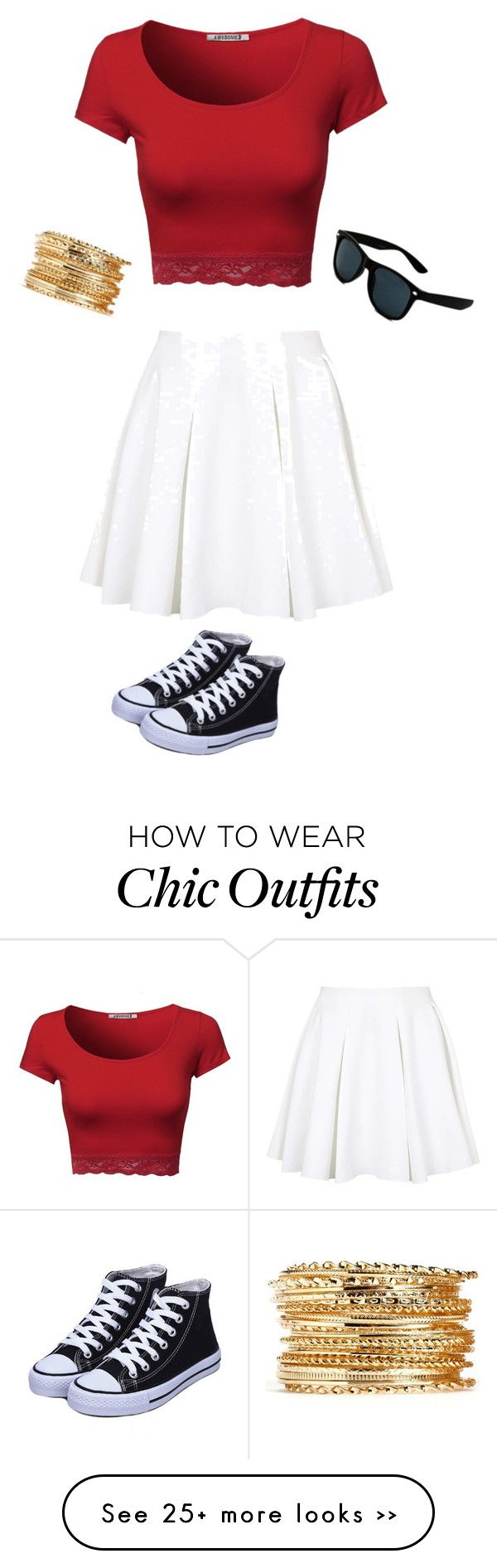 """Chic look"" by peyton9907 on Polyvore featuring Topshop"