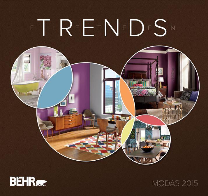 New Paint Color Trends: 39 Best BEHR 2015 Color Trends Images On Pinterest