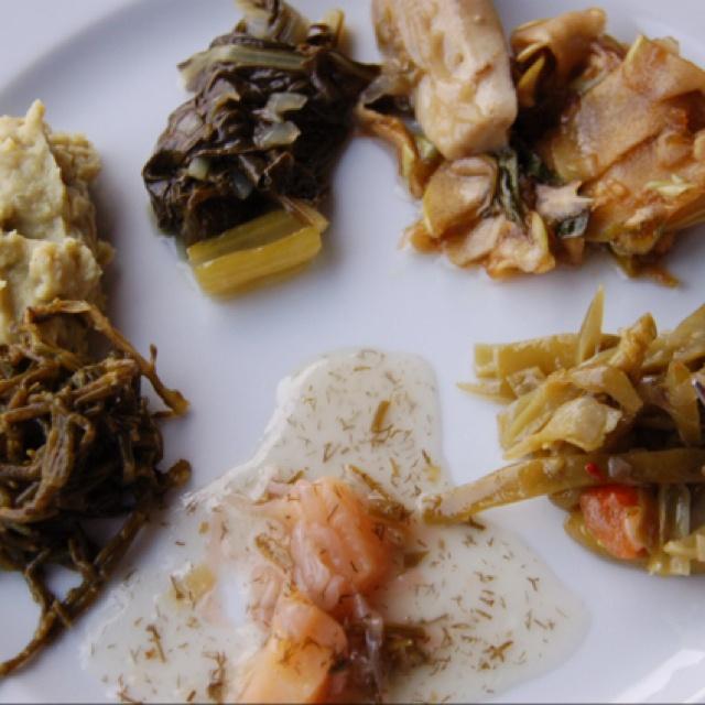 Yarbasan Castle, Bodrum, Turkey -- cooking class wonderful mezze
