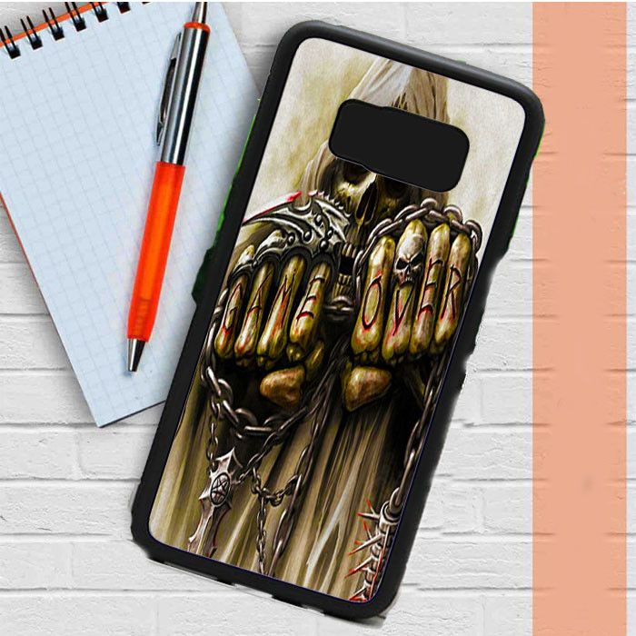 Skull Game Over Samsung Galaxy S8 Plus Case Casefreed
