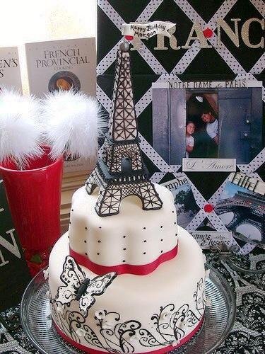 Torre Eiffel torta