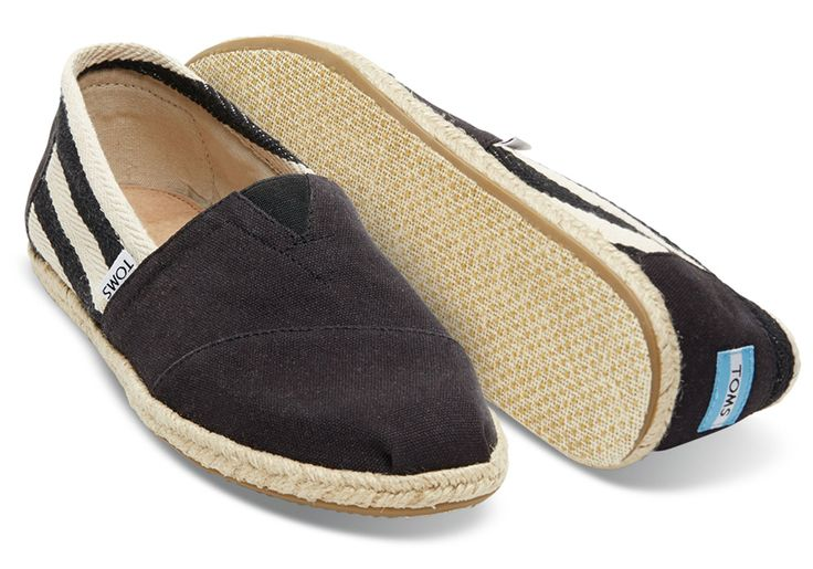 TOMS Official Store | JAPAN / BLACK STRIPE MEN'S UNIVERSITY CLASSIC