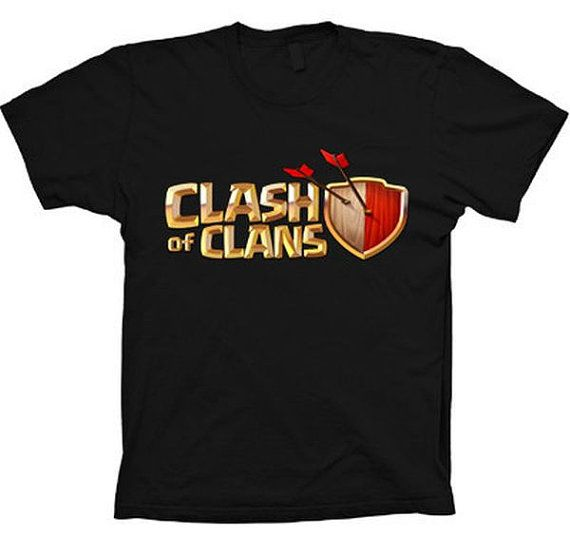 Clash Of Clans Epic Strategy Game App T-shirt