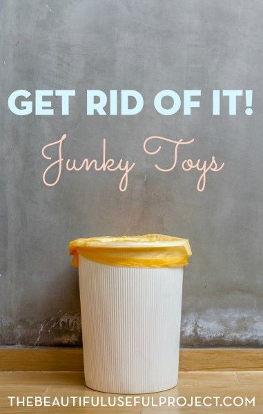 Are you constantly battling Happy Meal toy clutter? Do your kids have a lot of toys that are just junk? You'll love this simple toy decluttering project.