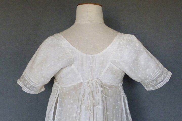 Scottish Embroidered Gown