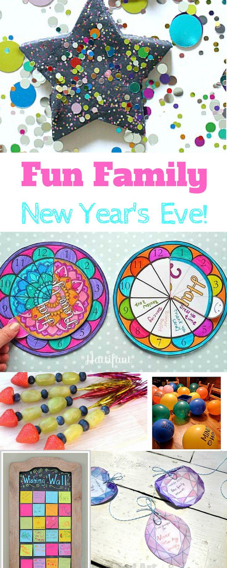Fun _Family new years eve