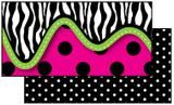 "Checkout the ""Zebra Double-Sided Bulletin Board Border, Straight"" product"