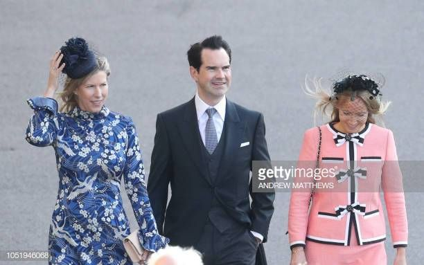 British Comedian Jimmy Carr Arrives With Partner Editor Karoline Copping To Attend The Wedding Of Britain S Princess Princess Eugenie October Wedding Princess She posted her first illustration in march of 2016. princess princess eugenie