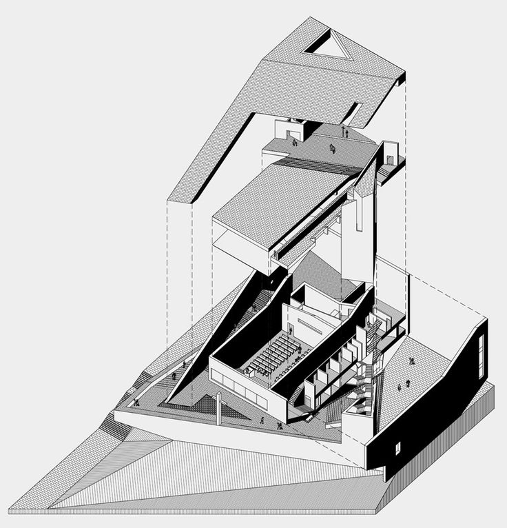 Picture Book Illustration Making An Architectural Model: Axonometric Images On Pinterest